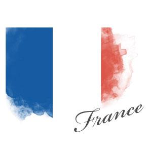 フランス国旗マーク