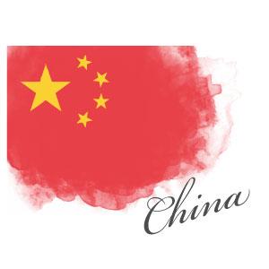 中国国旗マーク