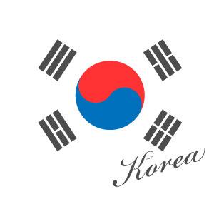 韓国国旗マーク